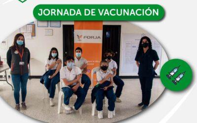 Jornada de vacunación en Gimnasio San Angelo